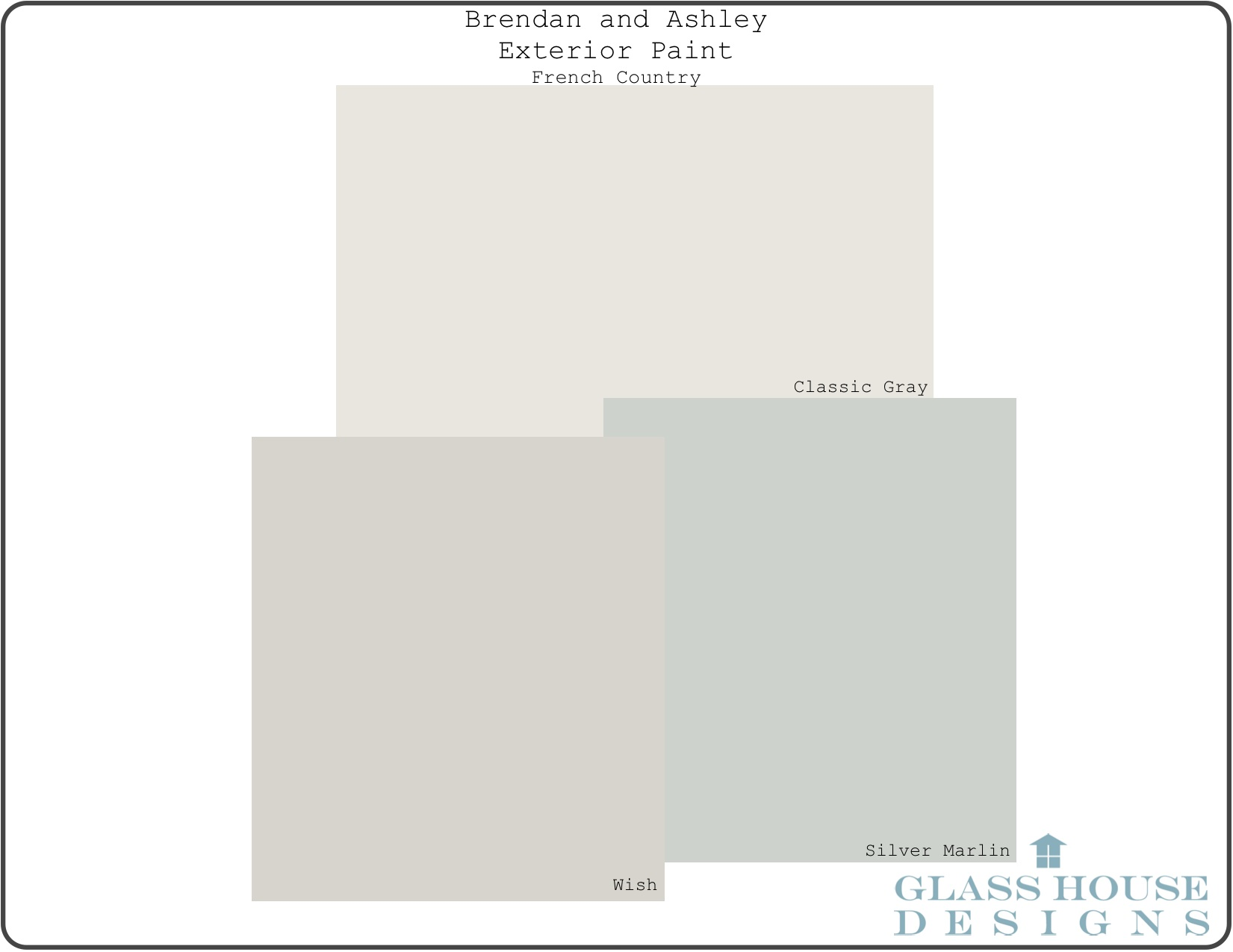 Paint Color Complex | Inside The Glass House