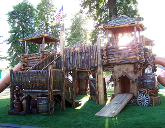 Backyard Wood Fort Plans